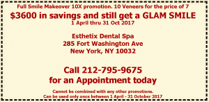 Esthetix Dental Spa Coupon