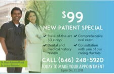 New Patient Special Esthetix Dental Spa