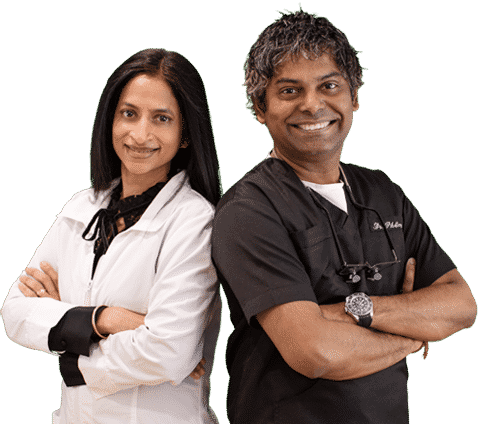 Dr. Arvind Philomin and Dr. Divya Adusumilli from Esthetix Dental Spa are the team for your smile makeover in NY