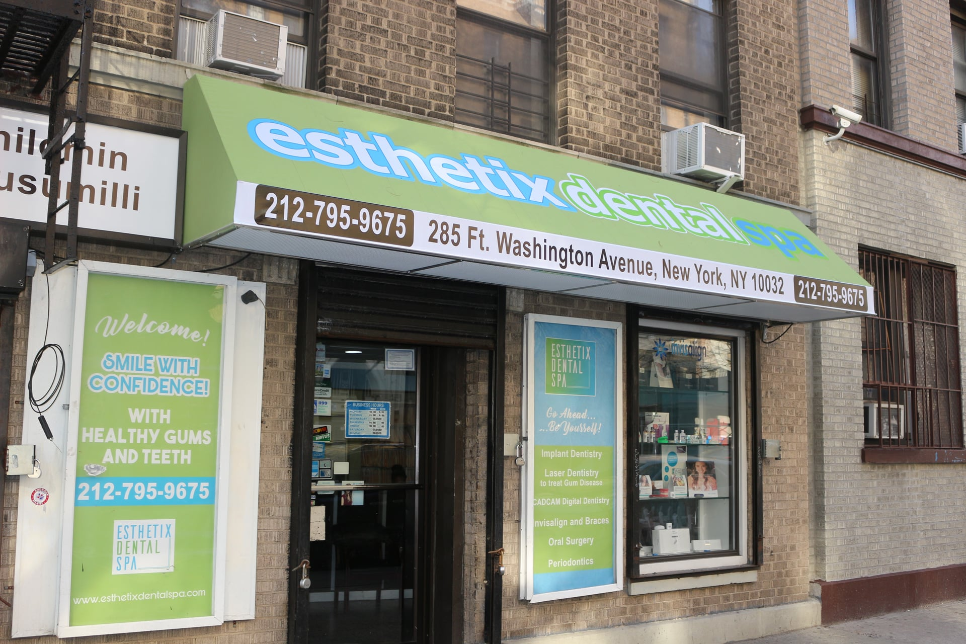 Esthetix Dental Spa, visit us in NYC