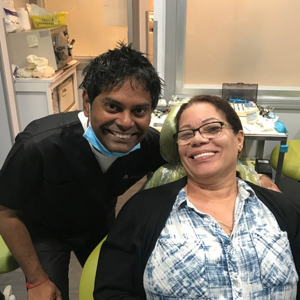 Esthetix Dental Spa takes good care of your teeth