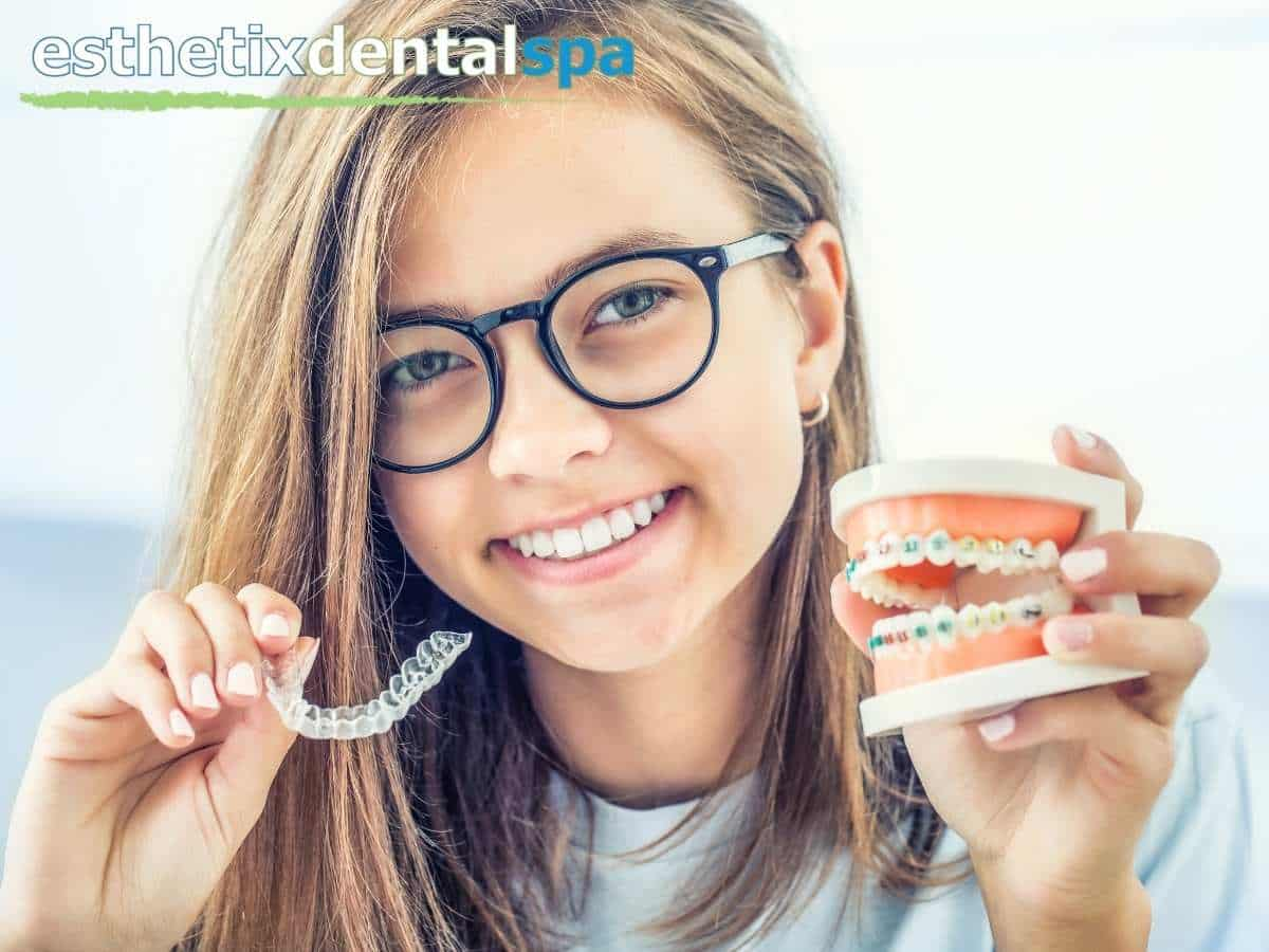 Teen With a Beautiful Straight Smile After An Invisalign Treatment In Washington Heights, NY